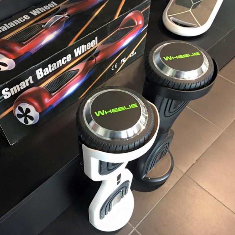 Hoverboard W2 2017 Nouveau servo moteur batterie samsung (noir)+ sac de transport offert
