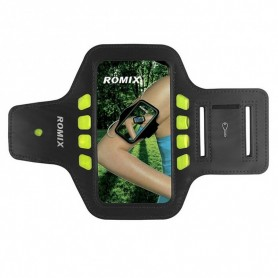 Brassard smartphone ROMIX Noir L