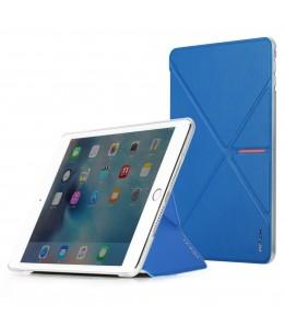 Coque iPad Mini ROCK avec rabat bleu Devita