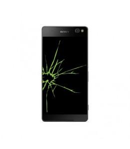 Réparation Sony Xperia C5 E553 vitre + LCD (Réparation uniquement en magasin)