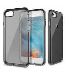 Coque iPhone 7/8 ROCK transparent noir  Guard Serie