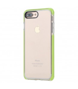 Coque iPhone 7 Plus / 8 Plus ROCK transparent vert Guard Serie