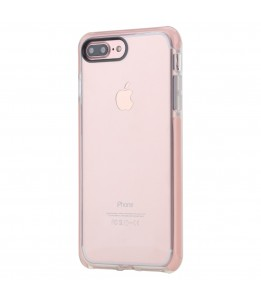 Coque iPhone 7 Plus / 8 Plus ROCK transparent rose Guard Serie