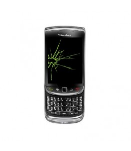Réparation Blackberry Torch 9800 vitre + LCD