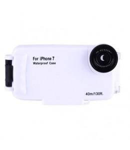 Coque iPhone 7/8 - 40m Boîtier de plongée imperméable PC + étui de protection ABS