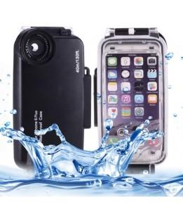 Coque iPhone 6 Plus/6S Plus - 40m Boîtier de plongée imperméable PC + étui de protection ABS