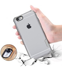 Coque iPhone 6/6S NILLKIN anticrash transparent (or)