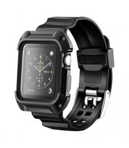 Bracelet sport anti-choc avec cadre pour Apple Watch 42mm