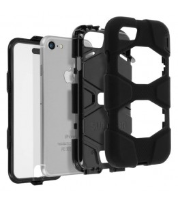 Coque Survivor All-Terrain Military - Griffin - Noir pour Apple iPhone 7 Plus / 8 Plus