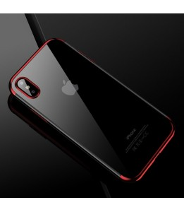 Coque iPhone X CAFELE TPU Protective Rouge